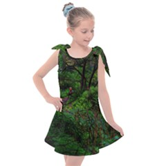 Wilderness Crossing Kids  Tie Up Tunic Dress by bloomingvinedesign