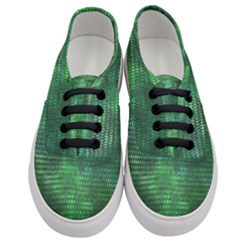Green Dragon Scales Women s Classic Low Top Sneakers