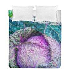 Cabbage Food Green 33315 Duvet Cover Double Side (full/ Double Size) by sevendayswonder