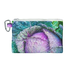 Cabbage Food Green 33315 Canvas Cosmetic Bag (medium)
