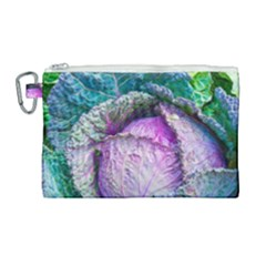 Cabbage Food Green 33315 Canvas Cosmetic Bag (large) by sevendayswonder