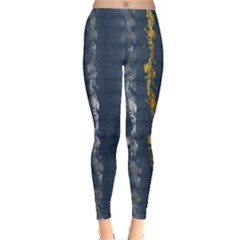 Gold And Silver Blue Jean Look By Flipstylez Designs Leggings