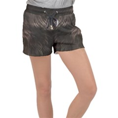 Raisin Fur Velour Lounge Shorts
