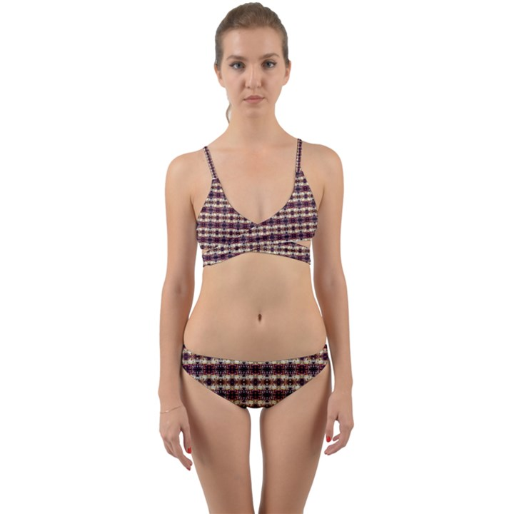 Contemplaid4 Wrap Around Bikini Set