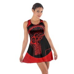 Artificial Intelligence Brain Think Cotton Racerback Dress