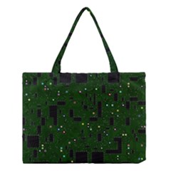 Board Conductors Circuits Medium Tote Bag by Samandel