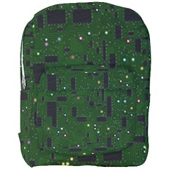 Board Conductors Circuits Full Print Backpack by Samandel
