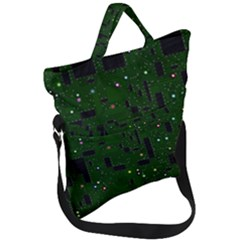 Board Conductors Circuits Fold Over Handle Tote Bag