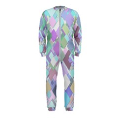 Colorful Background Multicolored Onepiece Jumpsuit (kids)