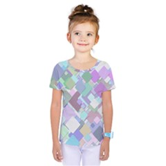 Colorful Background Multicolored Kids  One Piece Tee