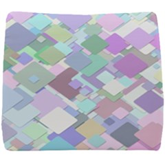 Colorful Background Multicolored Seat Cushion