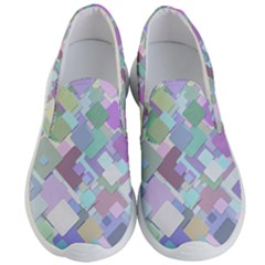 Colorful Background Multicolored Men s Lightweight Slip Ons