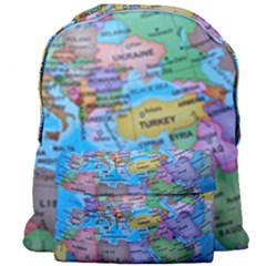 Globe World Map Maps Europe Giant Full Print Backpack