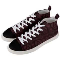 Leather 1568432 1920 Men s Mid Top Canvas Sneakers by vintage2030