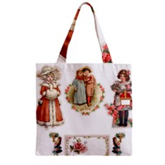 Children 1436665 1920 Zipper Grocery Tote Bag by vintage2030