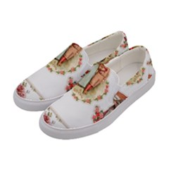 Children 1436665 1920 Women s Canvas Slip Ons by vintage2030