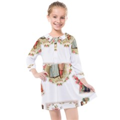 Children 1436665 1920 Kids  Quarter Sleeve Shirt Dress by vintage2030