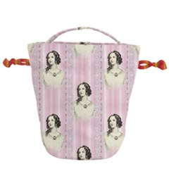 Victorian 1568436 1920 Drawstring Bucket Bag by vintage2030