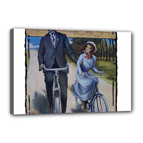 Bicycle 1763283 1280 Canvas 18  X 12  (stretched) by vintage2030