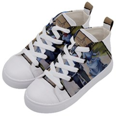 Bicycle 1763283 1280 Kid s Mid Top Canvas Sneakers by vintage2030