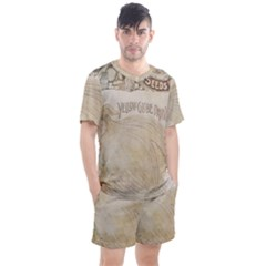 Background 1776456 1280 Men s Mesh Tee And Shorts Set