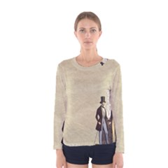 Background 1775359 1920 Women s Long Sleeve Tee by vintage2030