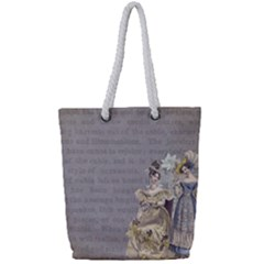 Background 1775352 1280 Full Print Rope Handle Tote (small) by vintage2030
