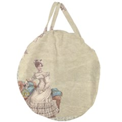 Background 1775324 1920 Giant Round Zipper Tote by vintage2030
