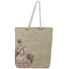 Background 1775324 1920 Full Print Rope Handle Tote (large) by vintage2030