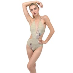 Background 1775324 1920 Plunging Cut Out Swimsuit by vintage2030