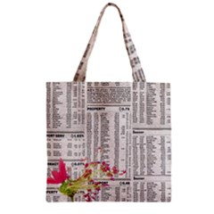 Background 1770129 1920 Zipper Grocery Tote Bag by vintage2030