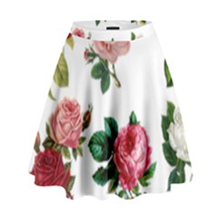 Roses 1770165 1920 High Waist Skirt by vintage2030
