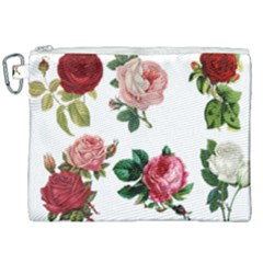 Roses 1770165 1920 Canvas Cosmetic Bag (xxl) by vintage2030