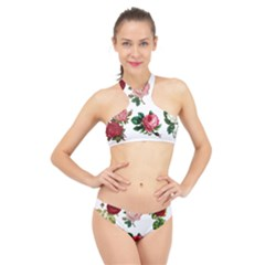 Roses 1770165 1920 High Neck Bikini Set