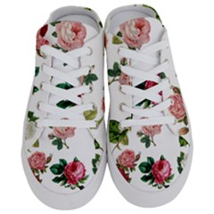 Roses 1770165 1920 Half Slippers by vintage2030