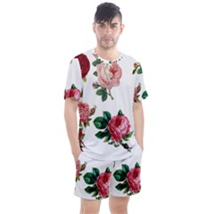 Roses 1770165 1920 Men s Mesh Tee And Shorts Set