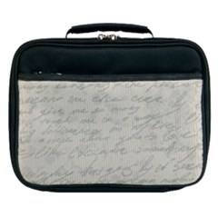 Handwritten Letter 2 Lunch Bag by vintage2030