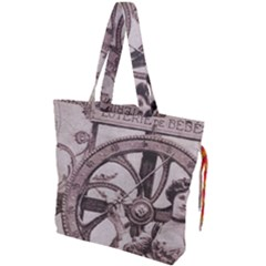 Lottery Drawstring Tote Bag