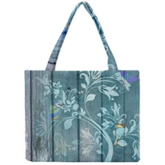 Green Tree Mini Tote Bag