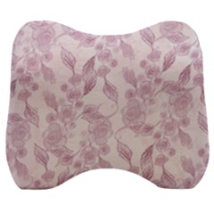 Background 1659228 1920 Velour Head Support Cushion by vintage2030