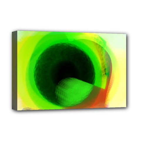 Twenty Two 22 Deluxe Canvas 18  X 12  (stretched) by 5dwizard