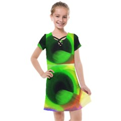 Twenty Two 22 Kids  Cross Web Dress
