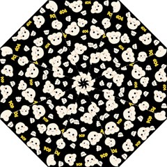 Cute Kawaii Popcorn Pattern Golf Umbrellas