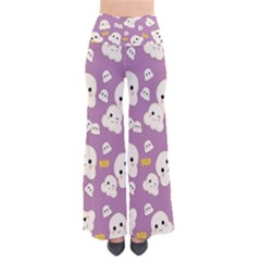 Cute Kawaii Popcorn Pattern So Vintage Palazzo Pants