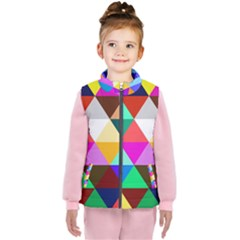 Triangles Pattern                                              Kid s Puffer Vest