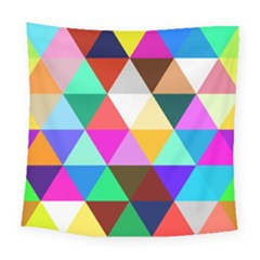 Triangles Pattern                                                   Square Tapestry by LalyLauraFLM