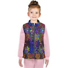 Colorful Waves                                               Kid s Puffer Vest