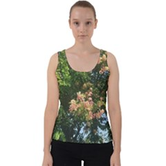 Hawai ian Tree Velvet Tank Top by SusanFranzblau
