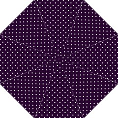 Little  Dots Purple Folding Umbrellas by snowwhitegirl