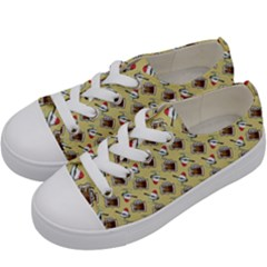 Kawaii Rootbeer Kids  Low Top Canvas Sneakers by snowwhitegirl